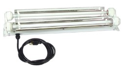 Ready Fit T5 2ft Fluorescent Grow Lamp Fixture