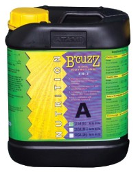 B'Cuzz Soil Nutrient Part A, 5 Liters