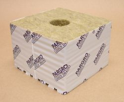 "Pargro Rockwool 6""x6""x4"" Block With Hole Case of 36"