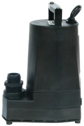 Little Giant 5-Msp Submersible Pump (Black)