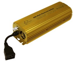 Ultra Grow 600W E-Ballast, Dimmable