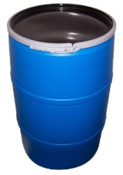 55 Gallon Barrel with Lid Food Grade