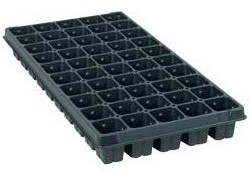 TO Plastics 50 Sq. Cell Plug Tray Case of 100