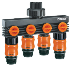 Claber 4 Way Water Distributor