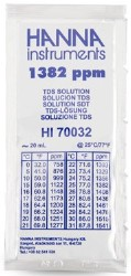 Hanna PPM Calibration Solution HI70032P 1382 PPM - 20 mL pack of 25