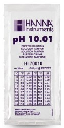 Hanna pH Calibration Solution HI70010P pH 10 - 20 mL pack of 25