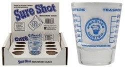 Measure Master Sure Shot Measuring Glass 1.5oz case of 12