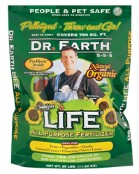 Dr Earth Life All Purpose Fertilizer 40 Lbs