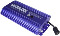 Lumatek 1000 Watt Air-Cooled Electronic Ballast - Hydrofarm Cord