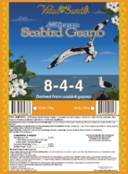 Vital Earth's All Purpose Seabird Guano 44lb
