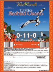 Vital Earth's High Phos Seabird Guano 44lb