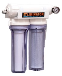 Eliminator 200 GPD RO System With Replaceable Membrane