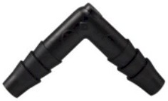 Hydro Flow Barbed Elbow 1/4in case of 500