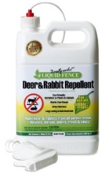 Liqiud Fence Deer And Rabbit Repellent 1 Gallon Rtu case of 2