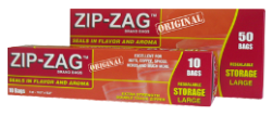 Zip-Zag Bags 10.75 X 11 (10/box)