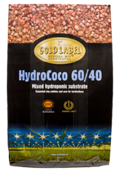 Gold Label HydroCoco 60/40 - 45 Liter pallet of 60