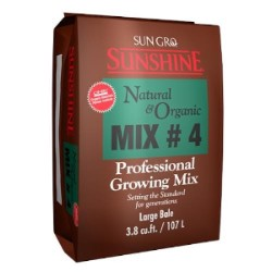 Sunshine #4 Natural & Organic w/ Myco 3.8 cf pallet of 30
