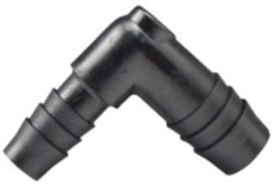 Hydro Flow Barbed Reducer Elbow 1/2in To 3/8in pack of 10