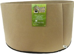"Tan Smart Pot - 200 Gallon  58""x18"" Squat Size"