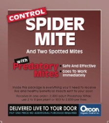 Predatory Mites Prepaid Certificate (2,000 live adults) Pack of 5