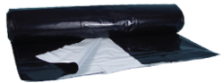 Berry Plastics Black/white Poly Sheeting - 5 Mil 40 Ft X 100 Ft