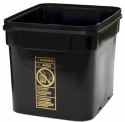 EZ Store Container/Bucket 8 Gallon with Lid pack of 5