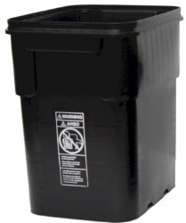 EZ Store Container/Bucket 13 Gallon with Lid pack of 3