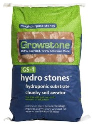 Growstone GS-1 Hydro Stones 1.5 cu ft pallet of 35