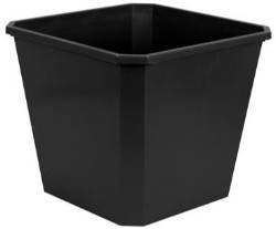Flo-n-Gro 6.6 Gallon Black Bucket case of 15