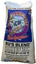 Bu's Blend Biodynamic Compost 1 cu ft pallet of 50