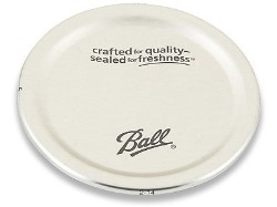 Ball Wide Mouth Jar Lids Set of 12