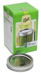 Ball Wide Mouth Jar Lids with Bands Set of 12