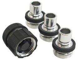 Dramm Aluminum Quick Disconnect Fitting System - 4 Parts