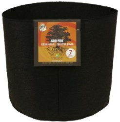 Gro Pro Essential Round Fabric Pot 7 Gallon pack of 10