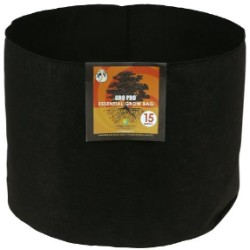 Gro Pro Essential Round Fabric Pot 15 Gallon pack of 10