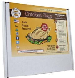 True Liberty Chicken Bags 100 Pack