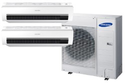 Samsung Mini Split - 36,000 BTU Heat & Cool with Two 18K BTU Heads