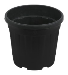 Gro Pro Round Ribbed Tub .8 Gallon - 3 Liter