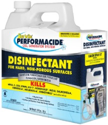 Star Brite Performacide Disinfectant 3/Pack Gallon Kit (2/Cs)