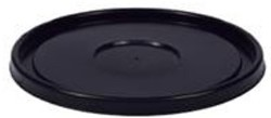 Bucket Lid for 5 or 3.5 Gallon Pail, Black pack of 10