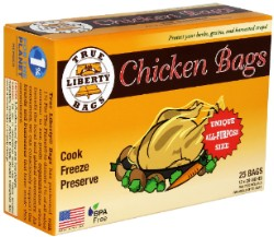 True Liberty Chicken Bags 25 Pack