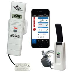 Remote Temperature and Humidity Monitoring System & Leak Detector