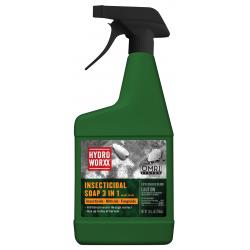 HydroWorxx Insecticidal Soap 3 in 1 RTU 24 oz