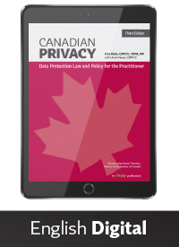 Canadian Privacy, Third Edition