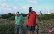 Pesca amb una colla d'amics des d'una cova, excursió amb Marc Vidal, cui