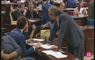 Sessió plenària del Parlament