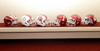 New football helmet designs debuted in June 2013.