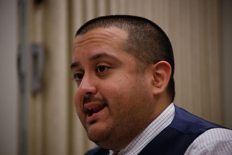 Casares describes how men often fail, or fall short of understanding what consent is and is not as he talked with reporters in the Student Ethics conference room where hearings are held. Casares was the moderator when Lyndsay's sexual assault hearing case was heard.