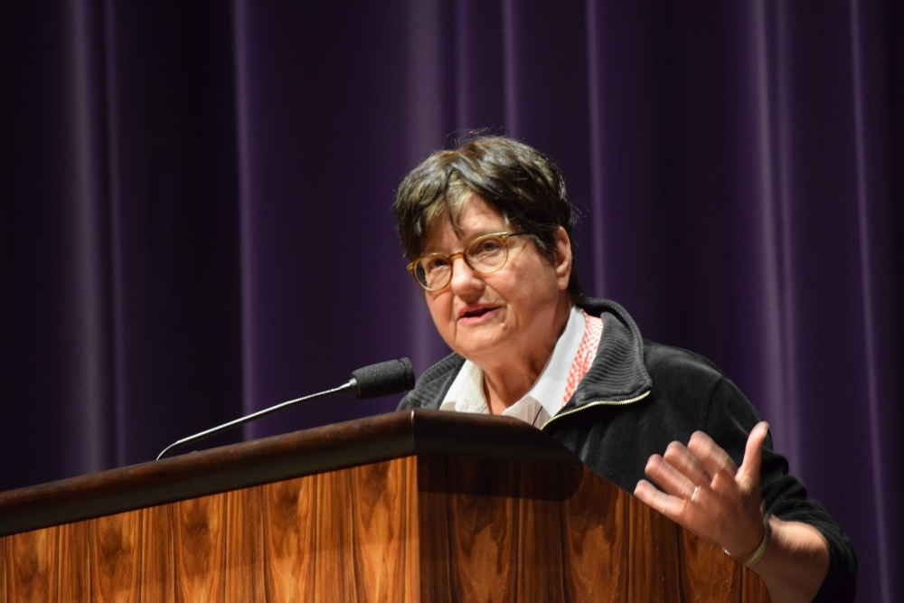 the arguments of sister helen prejean in the book dead man walking by helen prejean Sister helen prejean, an internationally acclaimed human rights activist and the  sister helen realized that if dead man walking could be made into a play,  and the book are meant to help you think about the death penalty with arguments .