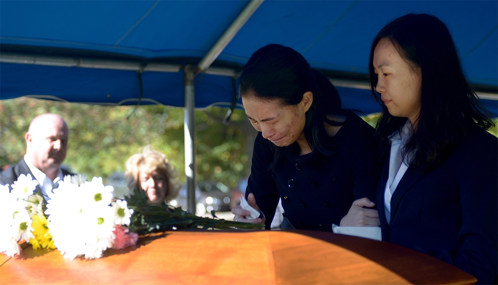 Yaolin Wang's funeral